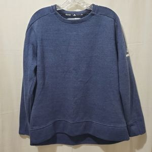 Adidas Men's Blue Sweatshirt Large